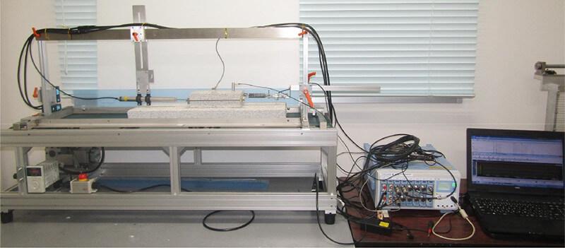 地震再現装置(OA-SSD1000X)