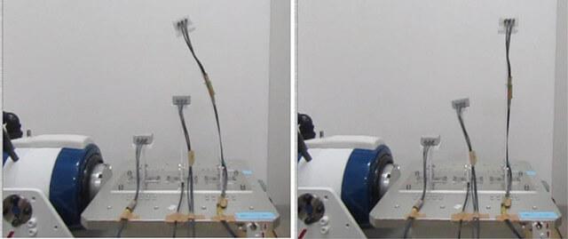 タワー固有振動数実験